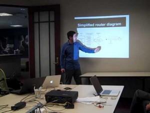 Michel Machado é Engenheiro PhD em Ciência da Computação e membro do grupo de pesquisa da Universidade de Boston