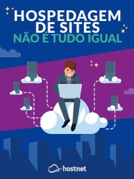 capa ebook hospedagem de sites