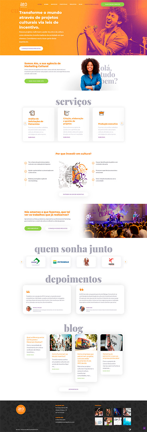 H2 Digital - site atomarketing