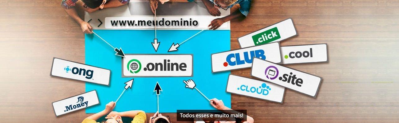 domínio hospedagem de sites